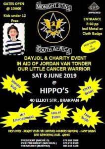 Midnight Sting Day Jol and Charity Event @ Hippo's, Brakpan