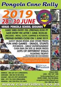 Pongola Cane Rally @ Pongola School Grounds