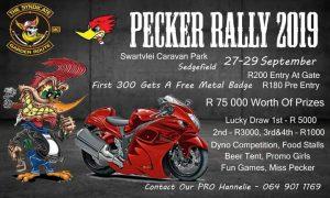 Pecker Rally (The Syndicate MC) @ Swartvlei Caravan Park, Sedgefield