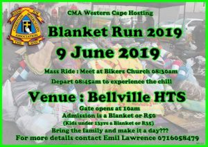 CMA Western Cape Blanket Run
